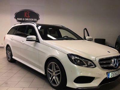 begagnad Mercedes E250 E Benz4matic, AMG, D-Värmare, Skinn 2015, Kombi 249 000 kr