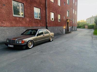 begagnad Mercedes 190 med luftfjädring