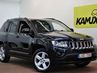brugt Jeep Compass 2.2 4x4 Navi M&K-värm Drag Nyservad S&V-hjul