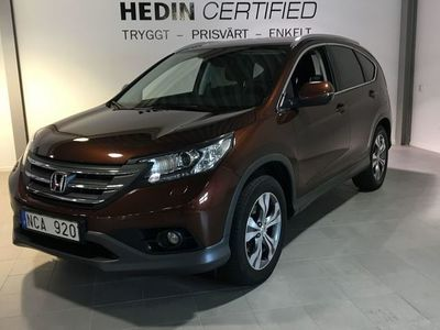 begagnad Honda CR-V 2,2 DTEC 4WD DRAG BAK KAMERA