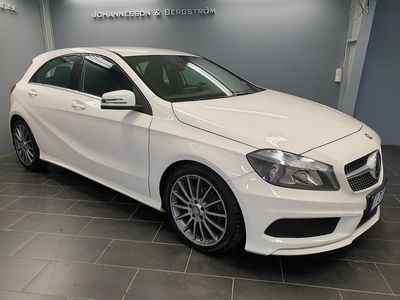 begagnad Mercedes A180 AMG Sport, Exclusive Skin