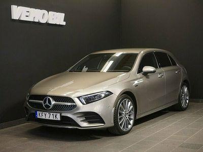 "begagnad Mercedes A250 e Aut AMG ""på väg in"""