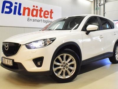 begagnad Mazda CX-5 2.2 AWD Optimum Automat Kamera Drag EU6 2014, SUV Pris 119 500 kr