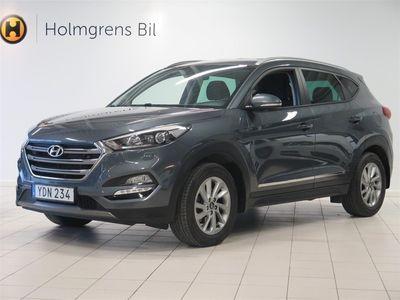 begagnad Hyundai Tucson 1.7 CRDi 141hk Trend Aut Drag Navi