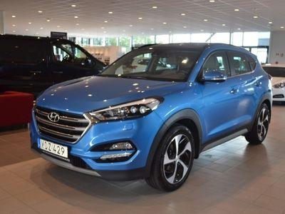 begagnad Hyundai Tucson 2.0 D 4WD Premium (184hk)