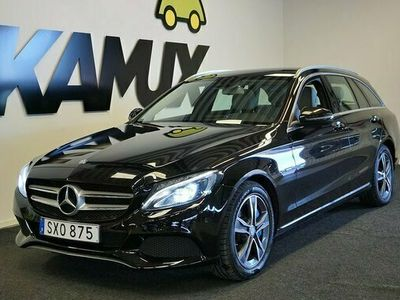 begagnad Mercedes C350e C Benz| Skinn | Pano | burmester | 2017, Kombi Pris 289 800 kr