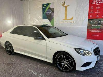 begagnad Mercedes E220 BLUETEC 4MATIC