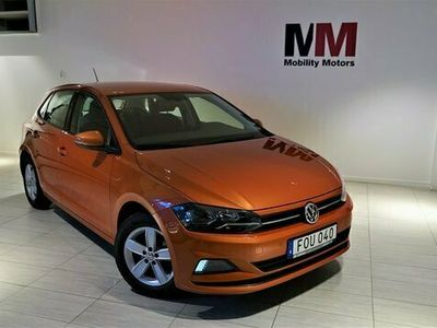 begagnad VW Polo 1.0 TSI BlueMotion Comfort Euro 6 95hk