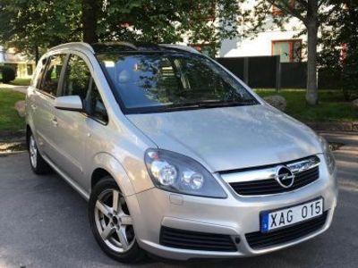 brugt Opel Zafira 2.2/7-SITS/PANORAMA/nybesiktad -06