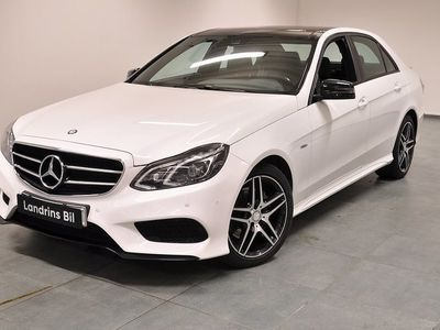 begagnad Mercedes E220 BlueTEC 4MATIC AMG Line