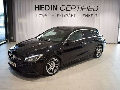 begagnad Mercedes CLA200 Shooting Brake // Apple carplay // AMG // Drag