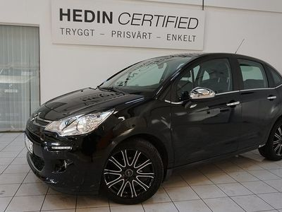 begagnad Citroën C3 82 HK BLACK DESIGN