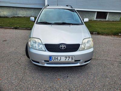 begagnad Toyota Corolla Kombi 1.6 besiktad