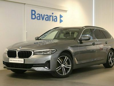 begagnad BMW 520 d xDrive Touring Connected Winter Drag HiFi