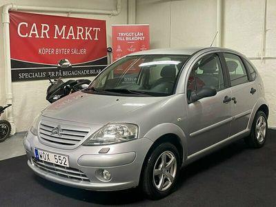 begagnad Citroën C3 1.4 (73HK) Besiktigad / Låga mil / Farthållare