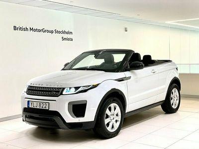 begagnad Land Rover Range Rover evoque Cabriolet Si4 SE Dynamic 2017, SUV Pris 399 000 kr