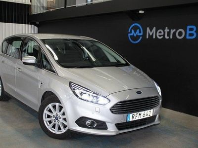 begagnad Ford S-MAX 2.0 TD business 7-sits 180hk