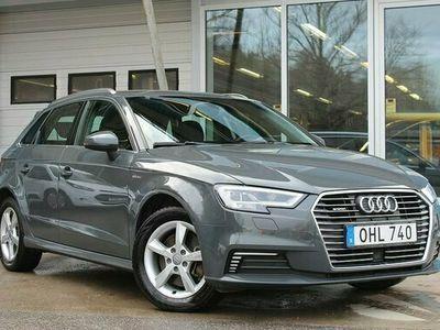 "begagnad Audi A3 e-tron Sport Drag LED Facelift 17"" 2017, Halvkombi Pris 249 000 kr"
