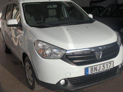 begagnad Dacia Lodgy 1.5 dCi 7-sits 107hk-Ny Sevad-Ny Besiktad