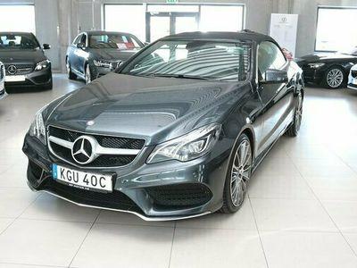 begagnad Mercedes E350 E BenzCabriolet AMG NAVI 2014, Cab Pris 299 900 kr