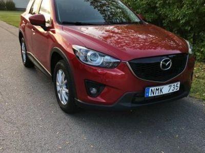 begagnad Mazda CX-5 AWD, diesel, automat, soul red -14