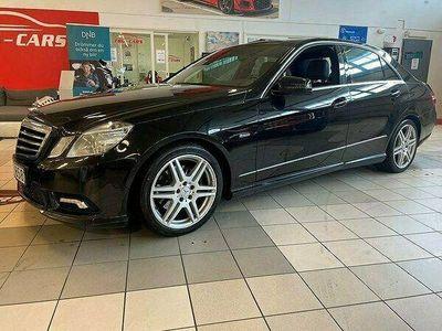 begagnad Mercedes E220 CDI BlueEFFICIENCY 5G-Tronic AMG Sport 1