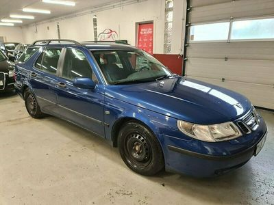 begagnad Saab 9-5 SportCombi 2.0T Linear 150hk, Nybesiktad, Dragkrok, Vinterdäck