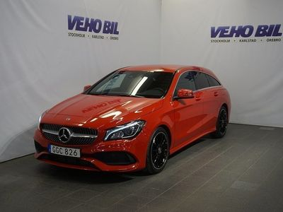 begagnad Mercedes CLA220 Shooting Brake d AMG Back -19