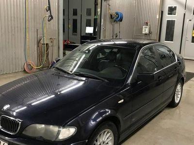 begagnad BMW 320 bra vinterbil