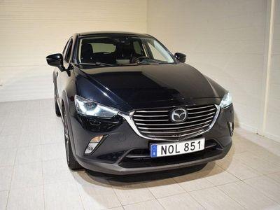 begagnad Mazda CX-3 2.0 Optimum Aut (NAV,Backkamera)