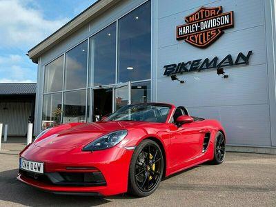 begagnad Porsche Boxster GTS Burmester Exclusive Carbonstolar