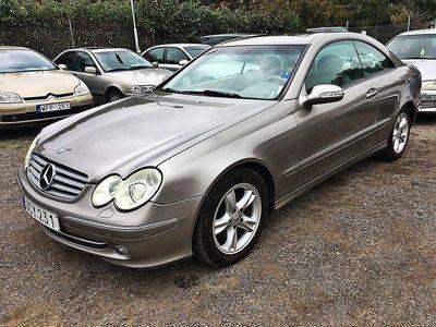 begagnad Mercedes CLK240 Coupé AUT / RESERVERAD