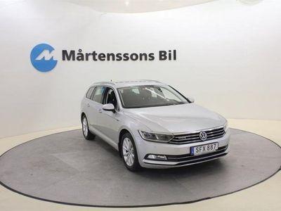 begagnad VW Passat 2.0 TDI Sportscombi 4Motion (190hk)