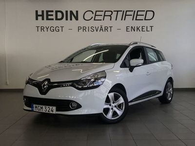 begagnad Renault Clio GrandTour 0.9 TCe Manuell 90hk