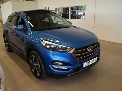 begagnad Hyundai Tucson 1.6 T-GDI 4WD DCT Euro 6 177hk 3 års beg garanti