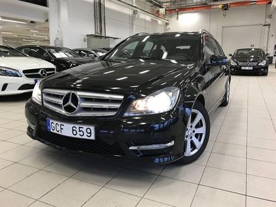 begagnad Mercedes C200 CDI BLUEEFFICIENCY BUSINESS KOMBI // AMG