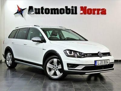 begagnad VW Golf Alltrack Sportscombi 2.0 TDI 184hk Auto 4M Värme Drag Keyless