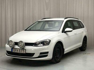 begagnad VW Golf VII 1.6 TDI BlueMotion Sportscombi 4Motion