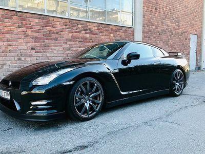 begagnad Nissan GT-R 3,8 V6 4x4 DCT Black edition 2012, Sportkupé 539 000 kr