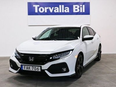 brugt Honda Civic 1.5Turbo Aut 182hk Inkl V-Hjul