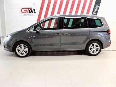 begagnad VW Sharan 1,95% Ränta Lagerutförsäljning TDI 150 DSG6 7-sits *Värmare, Dra
