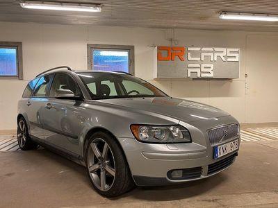 begagnad Volvo V50 1.8 Flexifuel Kinetic 125hk