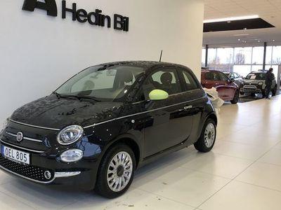 begagnad Fiat 500 1.2 Lounge Manuell, 69hk, / / Panorama