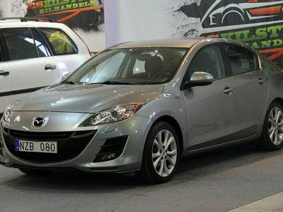 begagnad Mazda 3 SEDAN 1.6 MZR ADVANCE EN ÄGARE NY BESIKTAD NY SERVAD