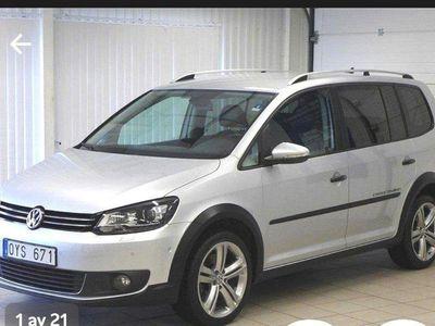 begagnad VW Touran Cross 2.0 TDI /7sits/Nav