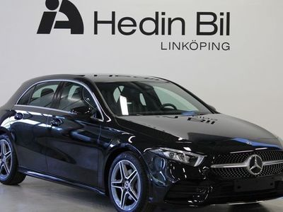 begagnad Mercedes A200 AMG-Line Backkamera Advantage Widescreen Sportstolar