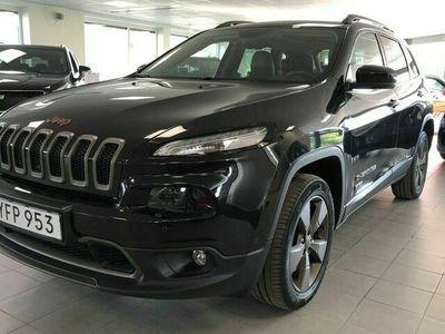 begagnad Jeep Cherokee 2,2D 200HK AWD AUTO EURO6 S+V-HJUL