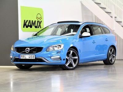 begagnad Volvo V60 T4F 180hk | R-Design | M-Värm | Drag
