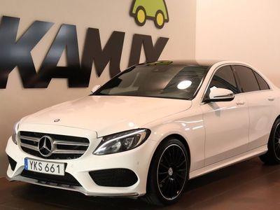 begagnad Mercedes C220 d 4matic AMG Panorama (170hk)