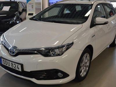begagnad Toyota Auris Touring Sports ElHybrid Backkamera Bluetooth